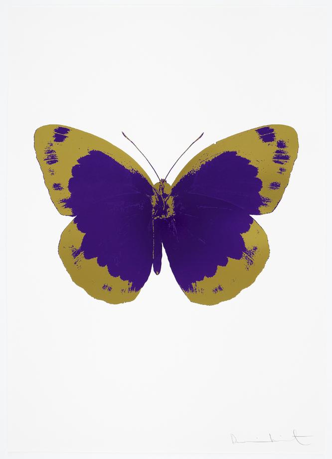 The Souls II by Damien Hirst (Imeprial Purple)