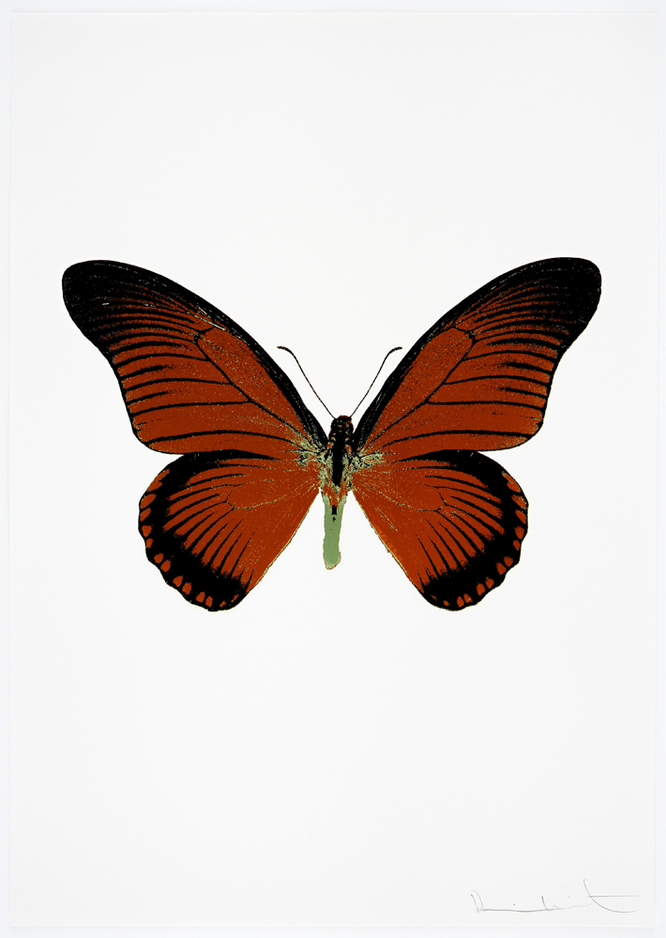 The Souls IV by Damien Hirst (Raven Black)