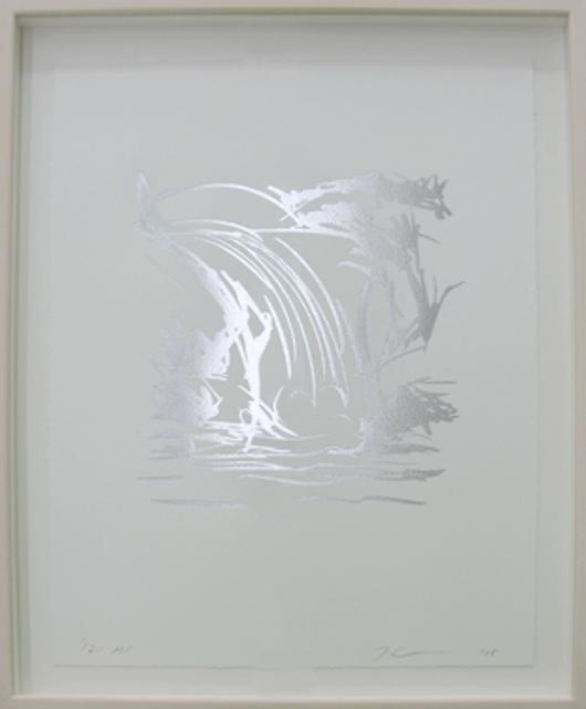 Waterfall Drawing by jeff Koons