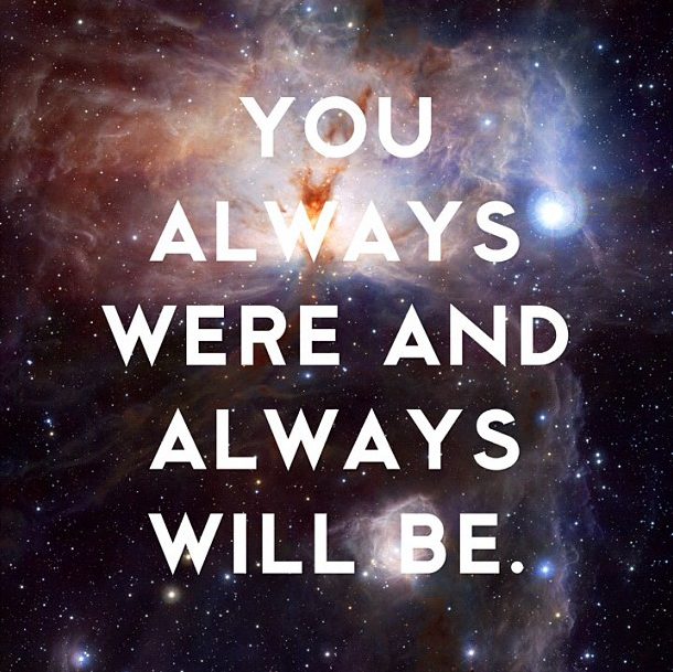 You Always were and always wil be  copy