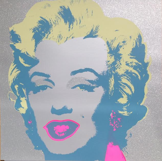 Andy Warhol Marilyn Monroe Sunday B Morning Diamond Dust