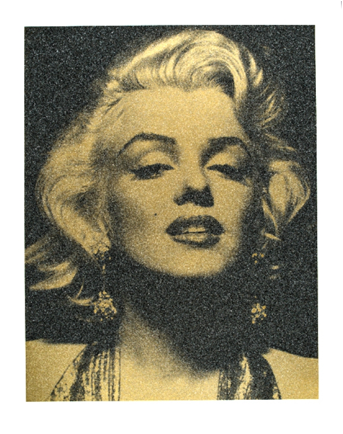 Yellow Marilyn by Russell Young