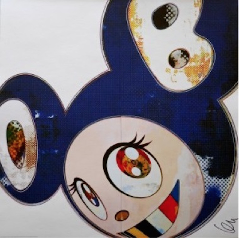 And then 3000 Blue by Takashi Murakami
