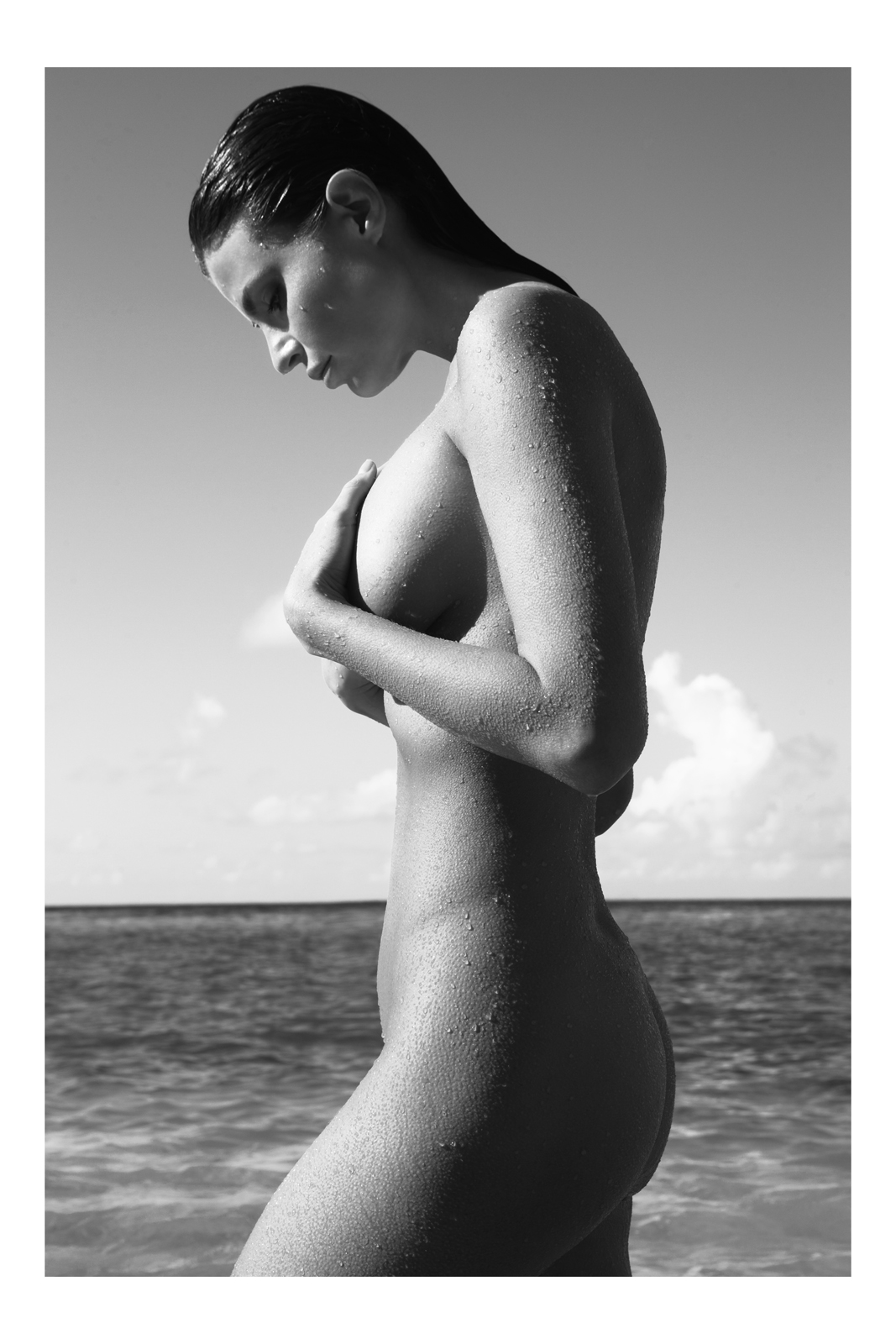Julia Lescova by Antoine Verglas