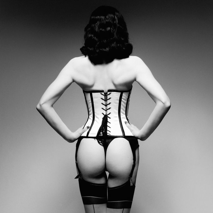 Pounting Dita by Rankin