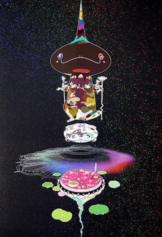 Reverse Double helix by Takashi Murakami