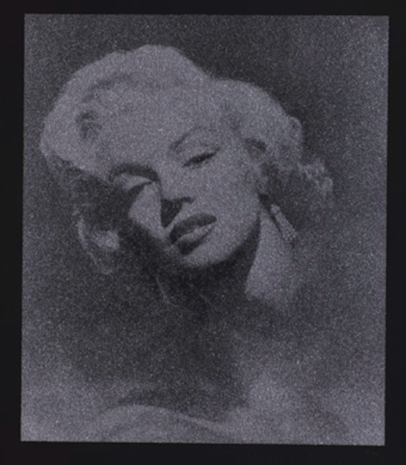 Glamour Marilyn by Russell Young