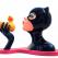 gregguillemin, guillemin, greg guillemin, screen print, emerging, secret lives of superheroes, Tweety and Sylvester by Greg Guillemin