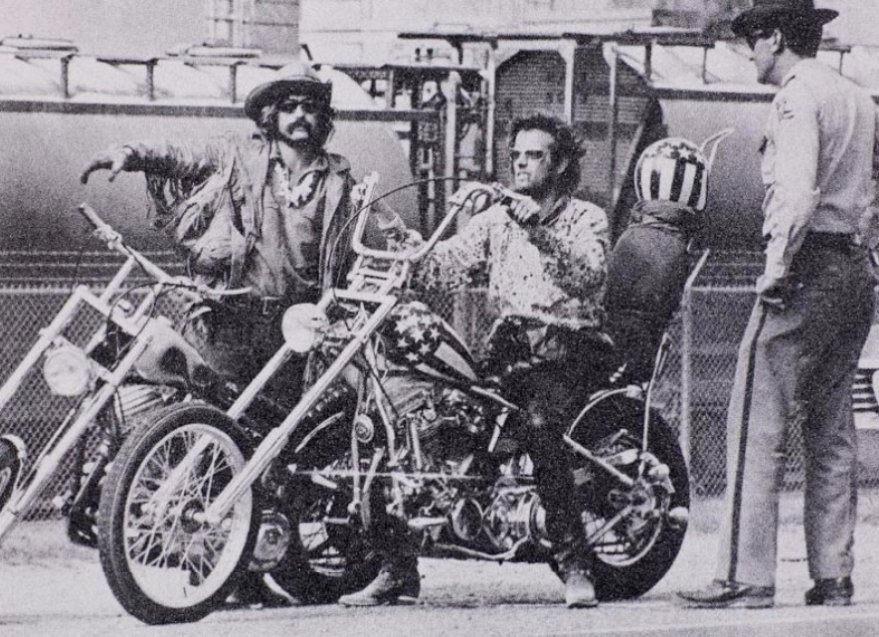 Easy Rider by Russell Young