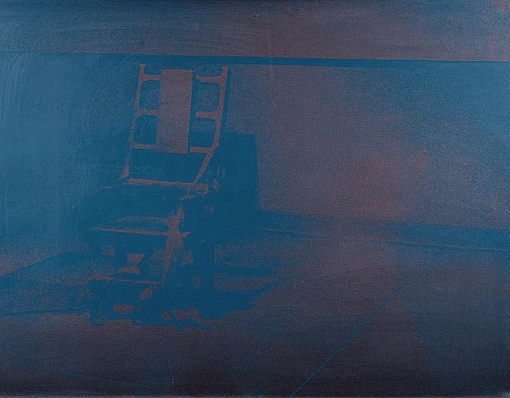 Electric Chair 79 by Andy Warhol