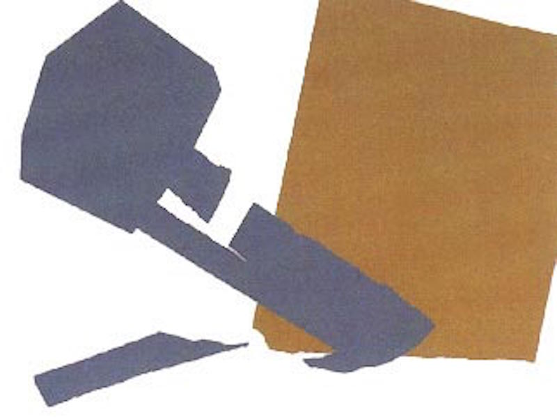 Hammer and Sickle 166 by Andy Warhol