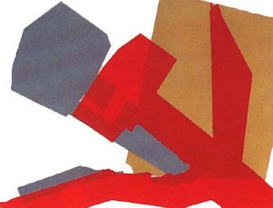 Hammer and Sickle 167 by Andy Warhol