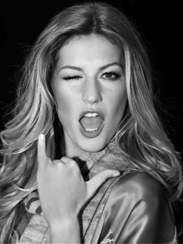Gisele Hang Loose by Russell James