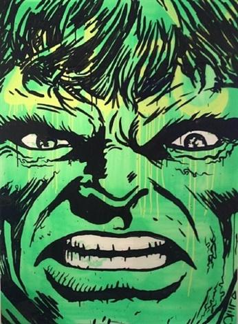 Hulk by Alec Monopoly