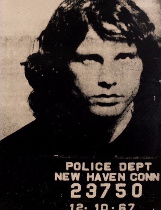 Jim Morrison Tan by Russell Young