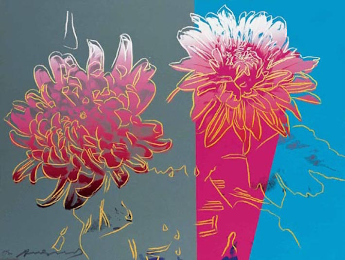 Kiku 308 by Andy Warhol