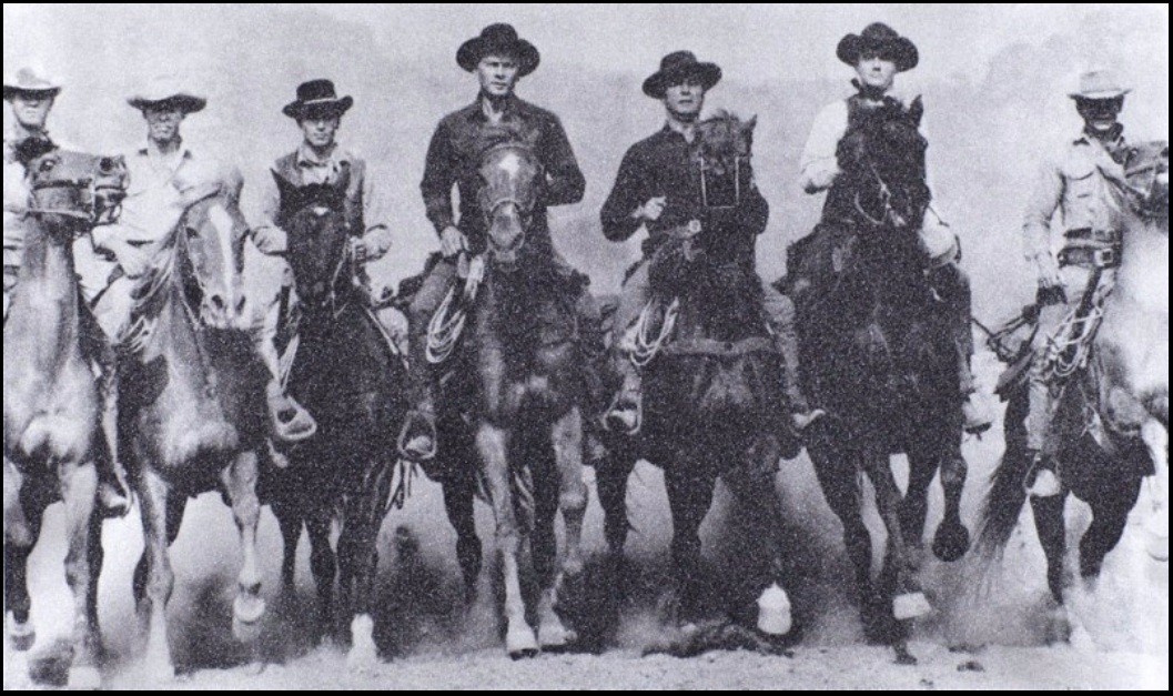 Magnificent Seven (Silver) by Russell Young