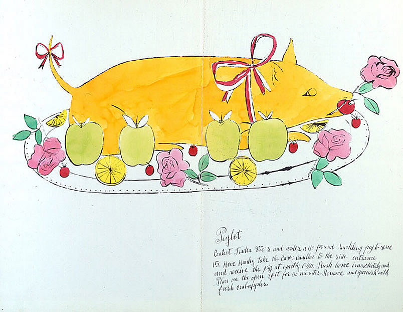Piglet by Andy Warhol