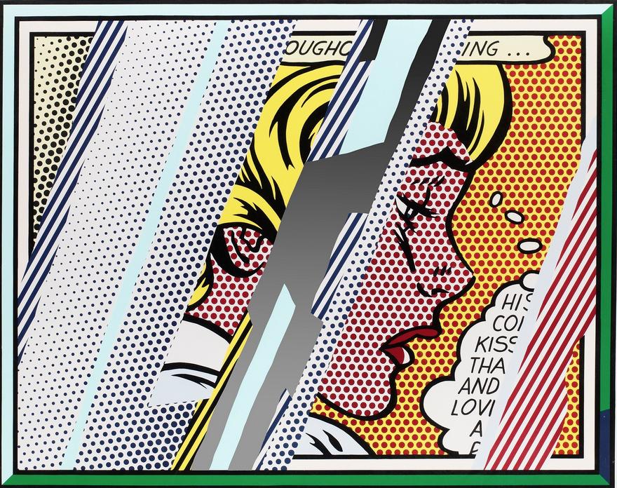 Reflections on Girl by Roy Lichtenstein