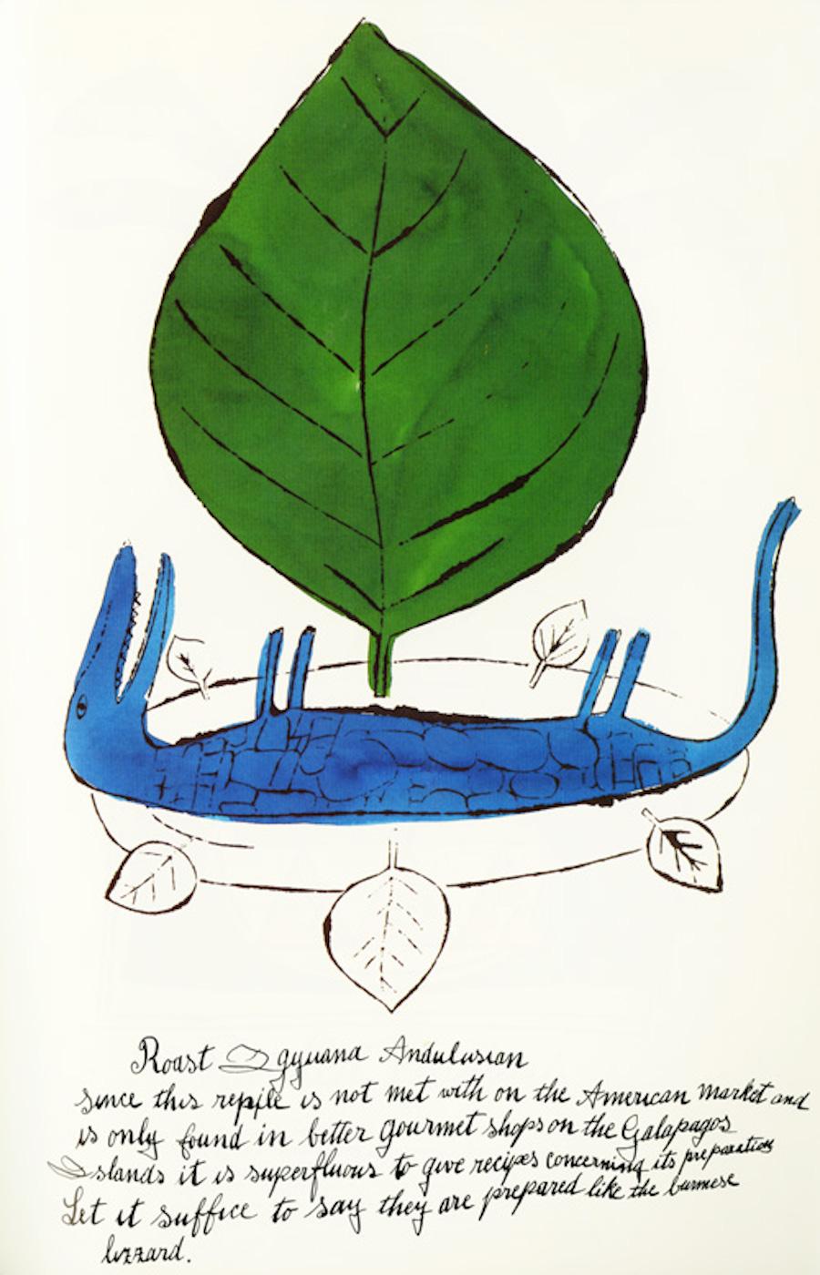 Roast Gyuana Andulusian by Andy Warhol