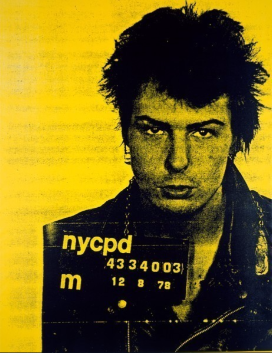 Sid Vicious (Yellow) by Russell Young