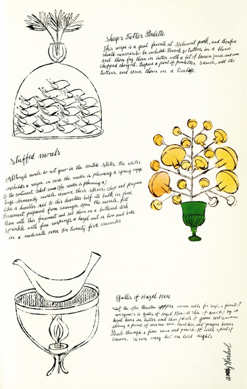 Stuffed Morsels by Andy Warhol