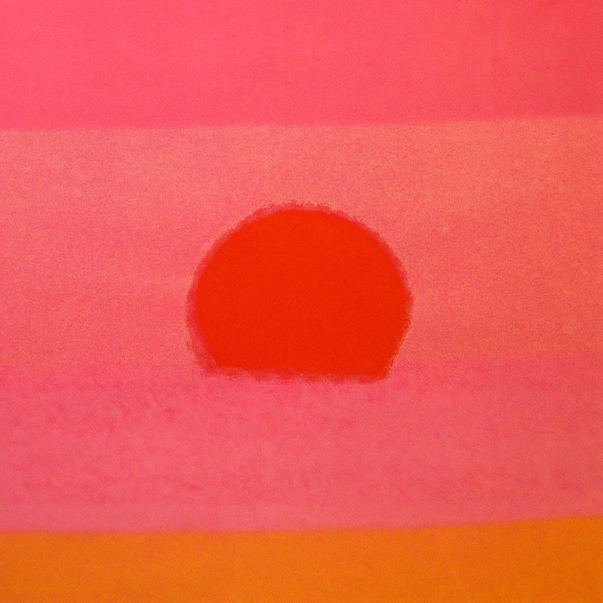 Sunset 88 Orange by Andy Warhol