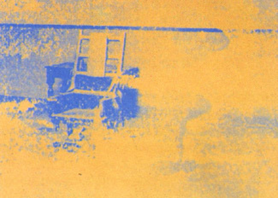 Electric Chair 83 by Andy Warhol