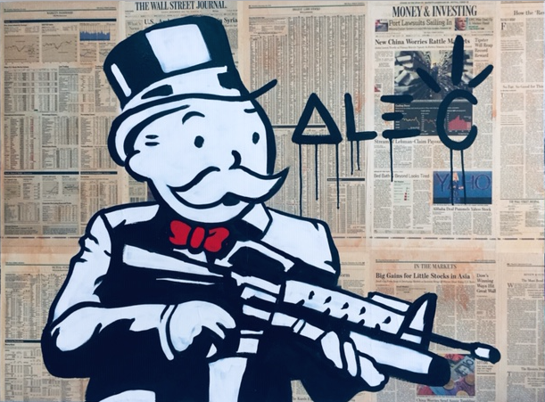 Scarface by Alec Monopoly
