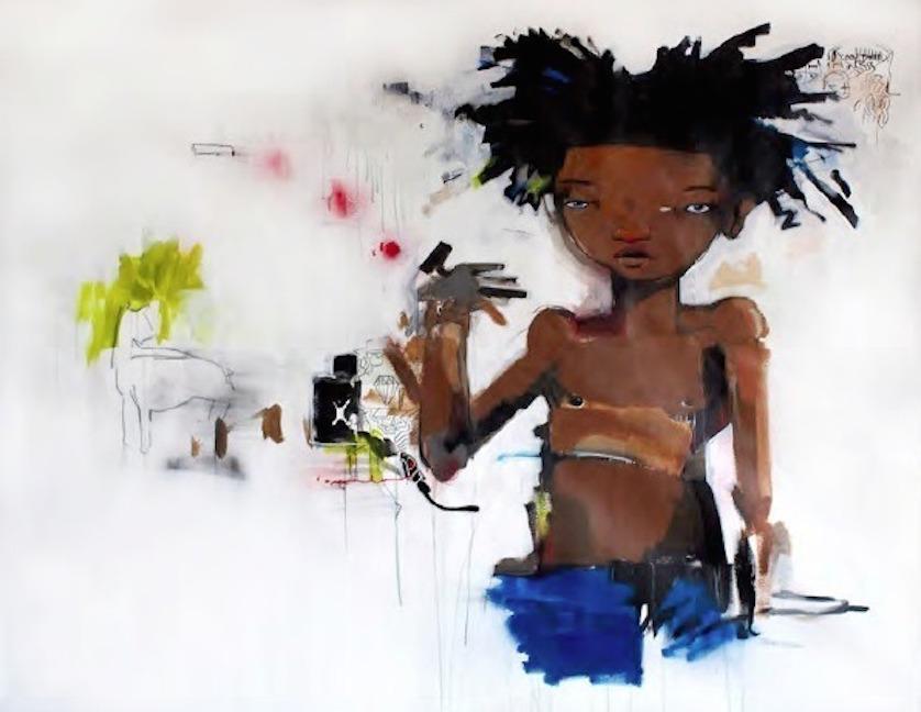 Young Basquiat by Hebru Brantley