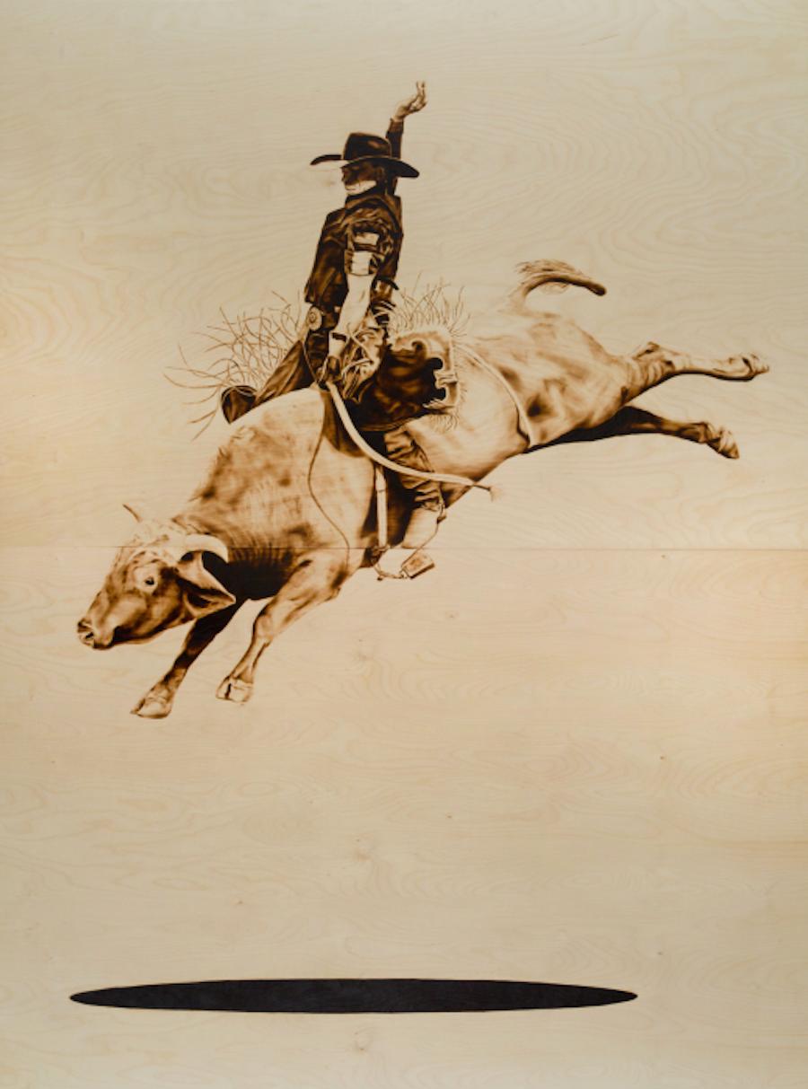 The Bull Rider by Ryan McCann