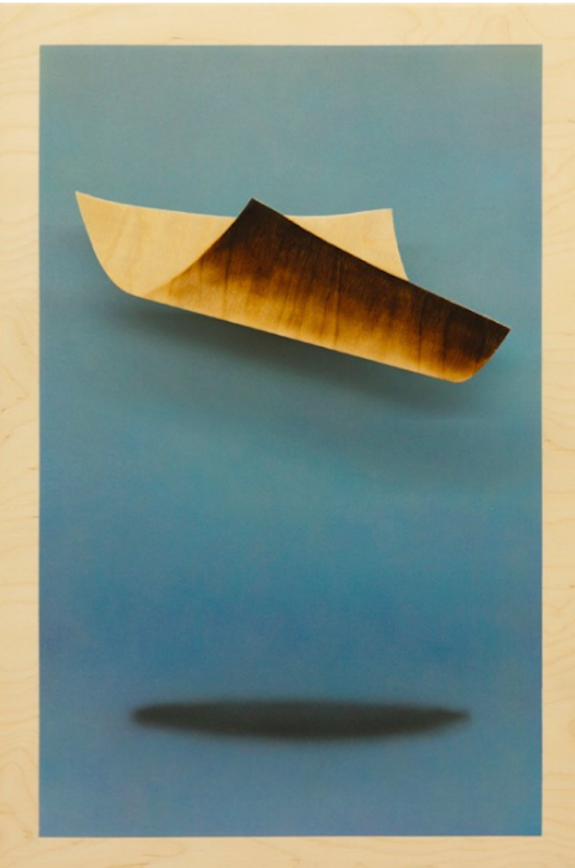 Paper Fall Blue by Ryan McCann