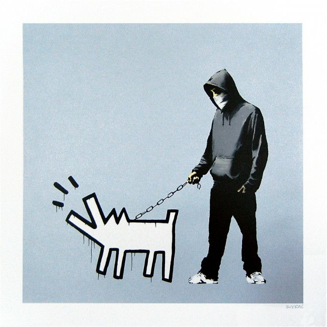 Choose Your Weapon by Banksy (Silver)