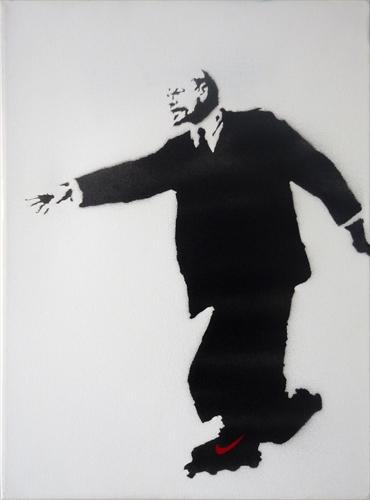 Lenin Roller by Banksy