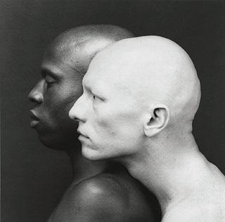 Ken Moody and Robert Sherman by Robert Mapplethorpe