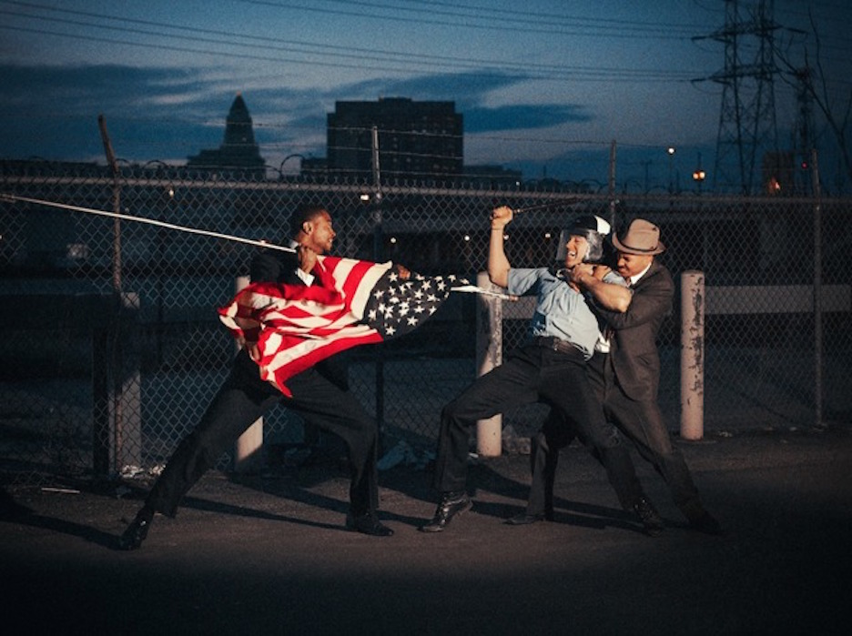 American Flag by Tyler Shields