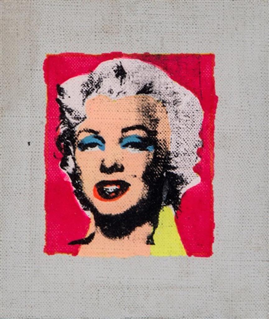Marilyn on Pink Background by Richard Pettibone