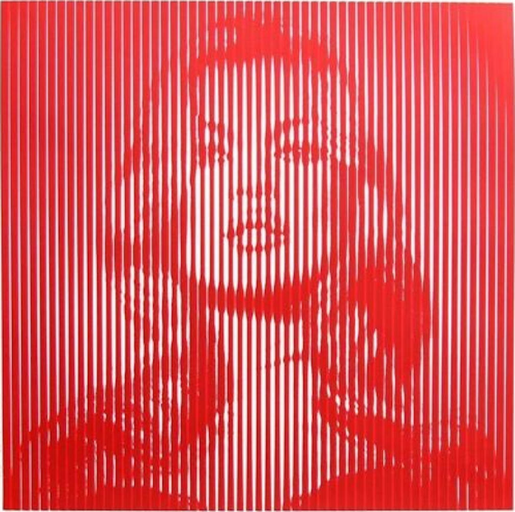 Kate Moss Print by Mr.Brainwash