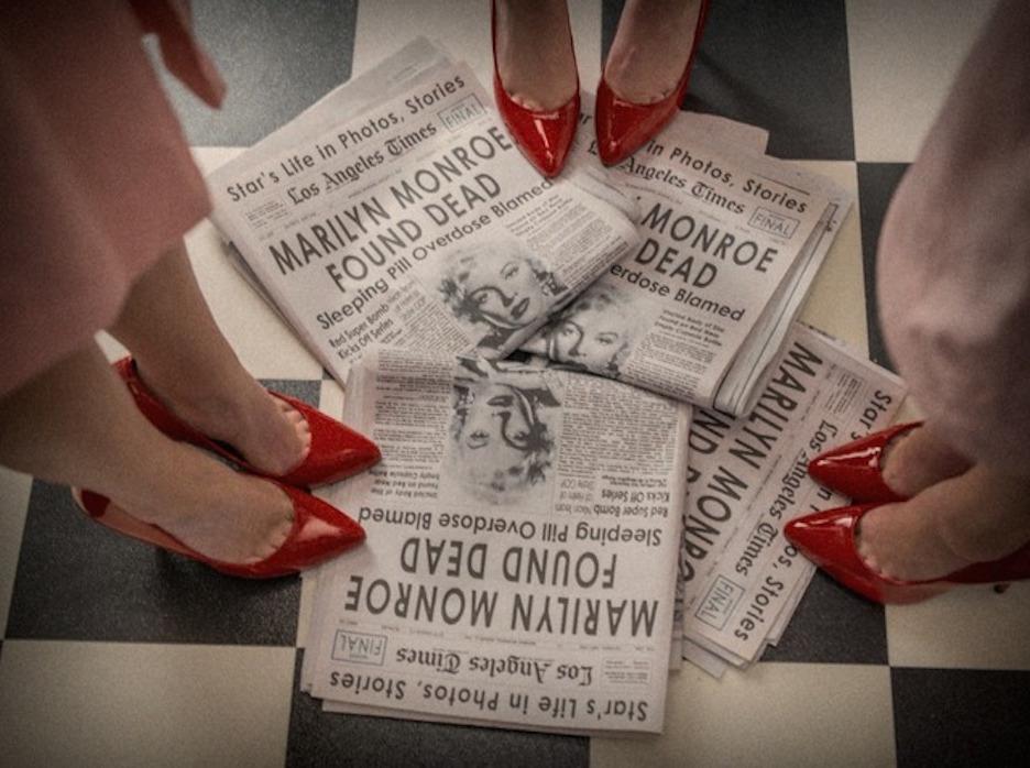 Marilyn Monroe Found Dead by tyler Shields