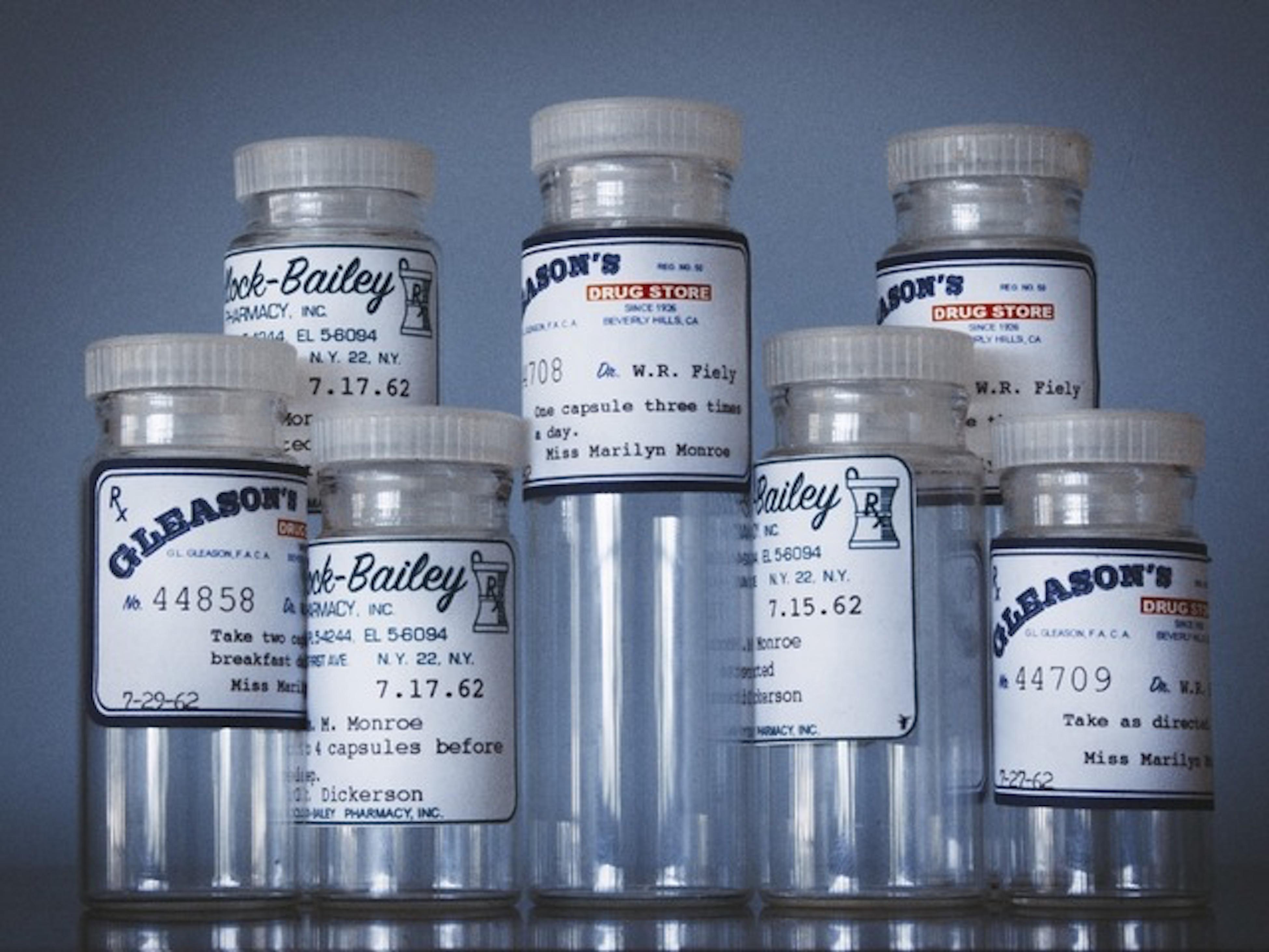 Marilyn Monroe Pill Bottles
