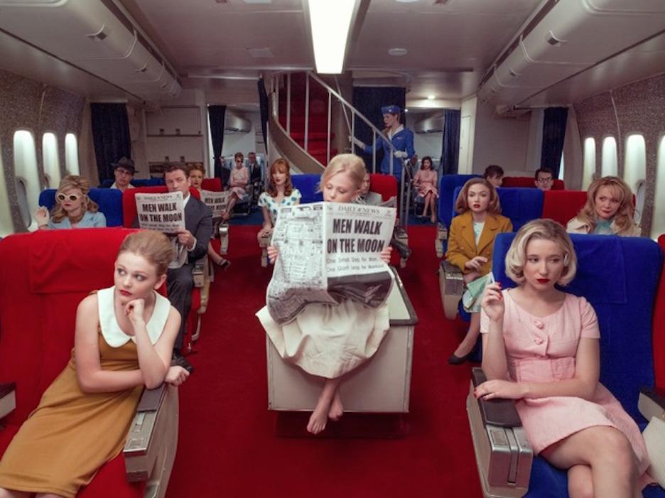 Pan Am Flight 62 Moon Landing by Tyler Shields