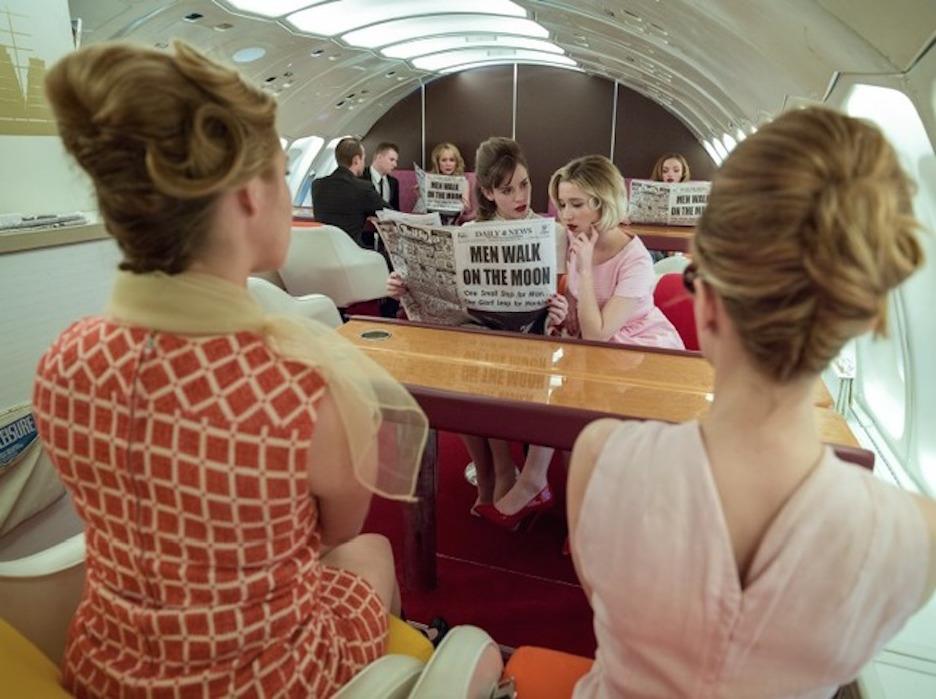 Pan Am Lounge by Tyler Shields