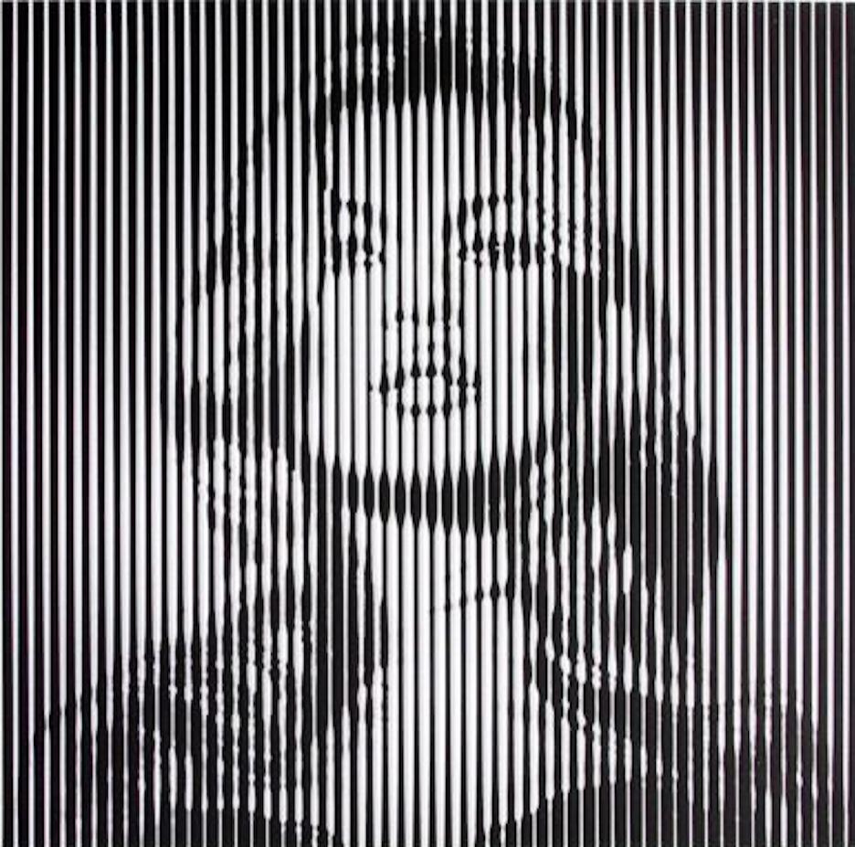 Kate Moss Print by Mr.Brainwash (Black)
