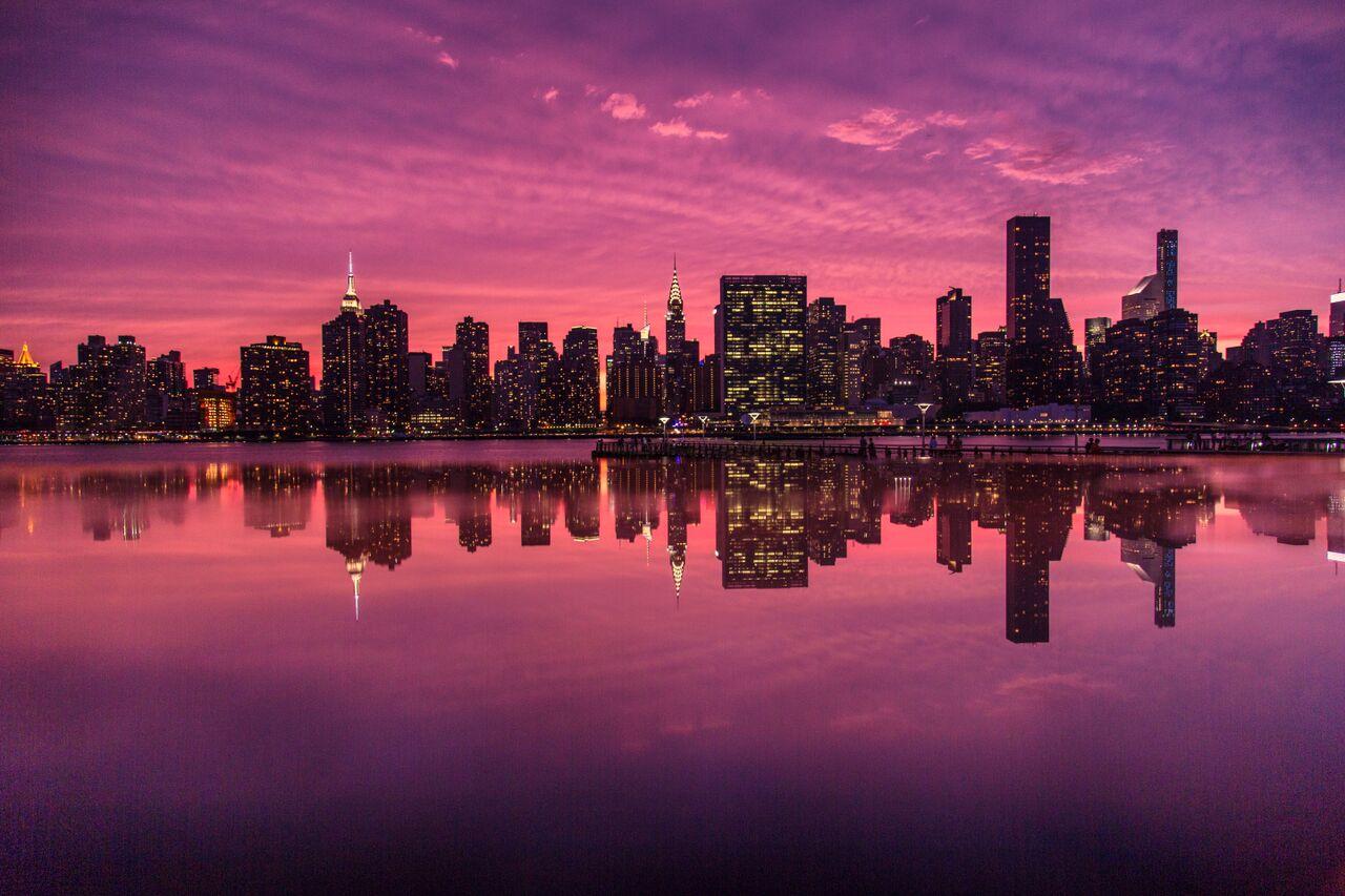 Skyline Reflection by @Jacob