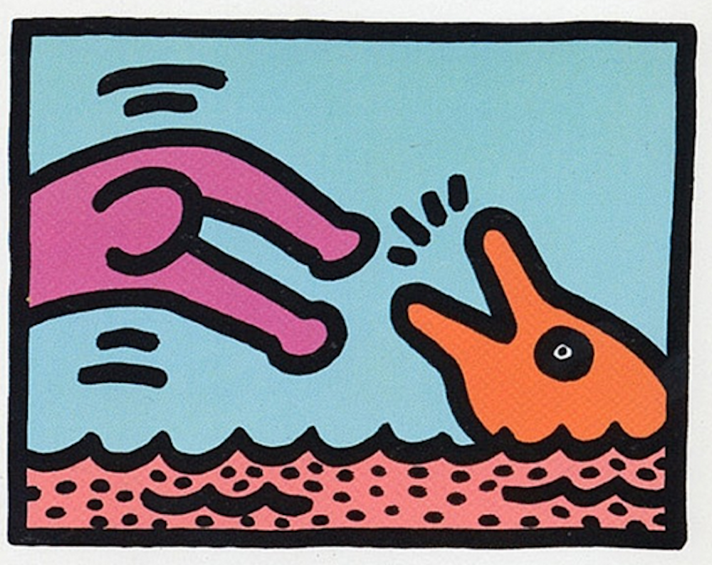 2 Pop Shop V By Keith Haring