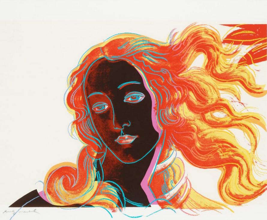 Andy Warhol Birth Of Venus 318