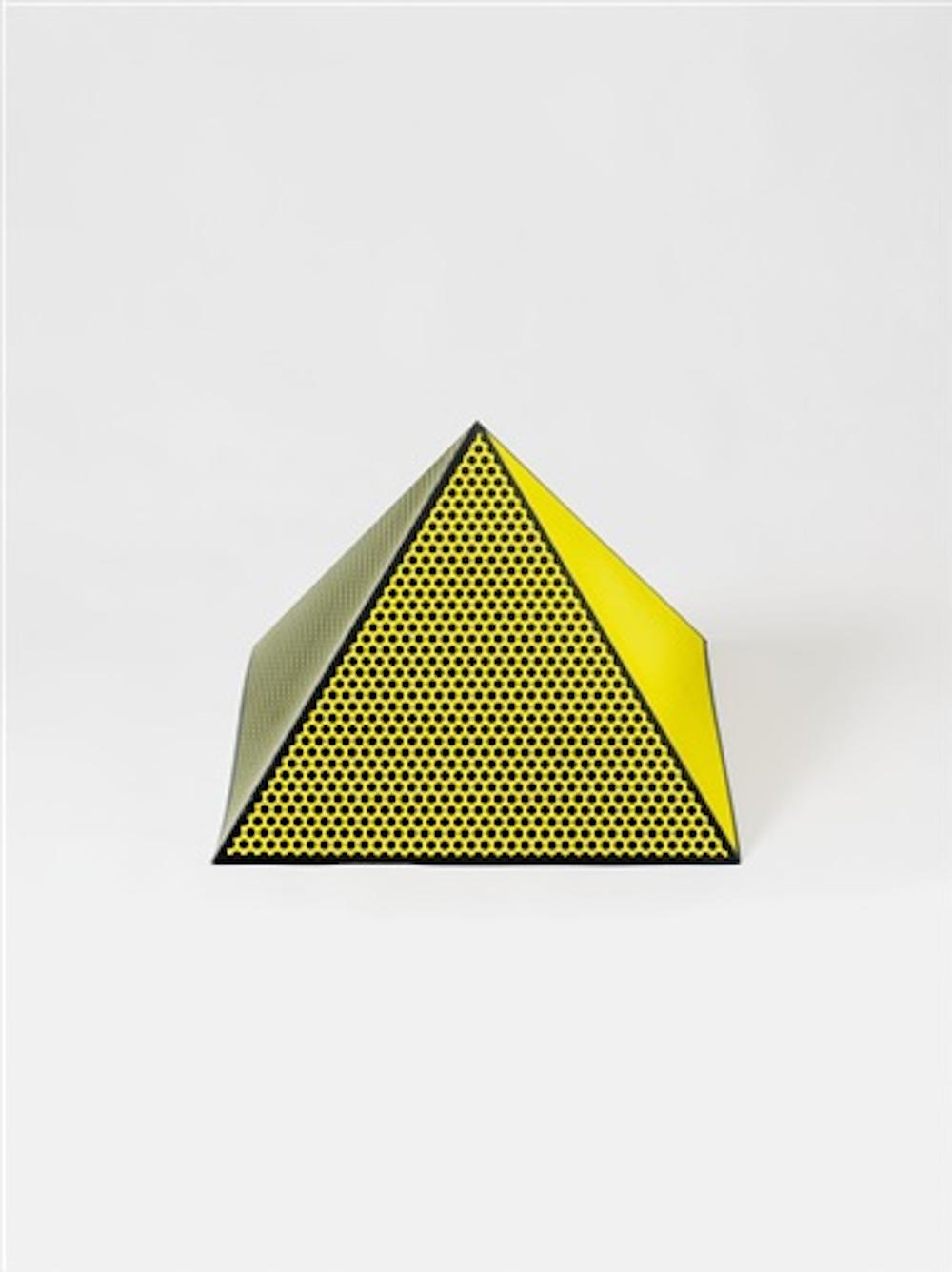Pyramid by Roy Lichtenstein