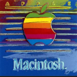 Apple (Macintosh) Ad Trial Proof by Andy Warhol