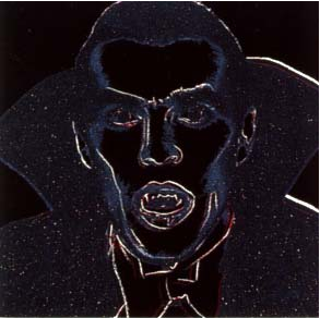 Dracula Trial Proof by Andy Warhol