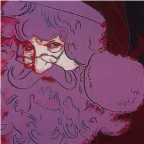 Santa Claus Trial Proof by Andy Warhol